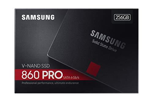 Samsung MZ-76P256B/EU 860 PRO 256 GB SATA 2,5 Interne SSD Schwarz