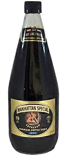 Manhattan Special - Diet - Espresso Premium Coffee Soda - 32 oz (12 Glass Bottles)
