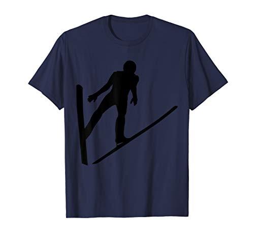 Skispringen Skifliegen Skispringer T-Shirt