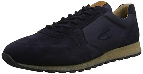 camel active Herren Earth 14 Sneaker, Blau (Midnight 2), 48.5 EU (13 UK)