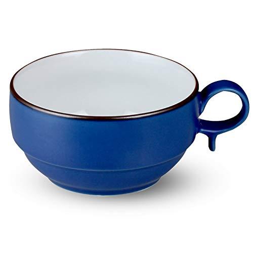 白山陶器 S型スープボール小 ブルーマット (約)φ10.5×5.5cm 300ml S-type SOUP BOWL 波佐見焼 日本製