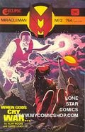 Miracleman No 2 October 1985