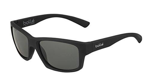 bollé Erwachsene Holman Sonnenbrille, Black Soft, Medium