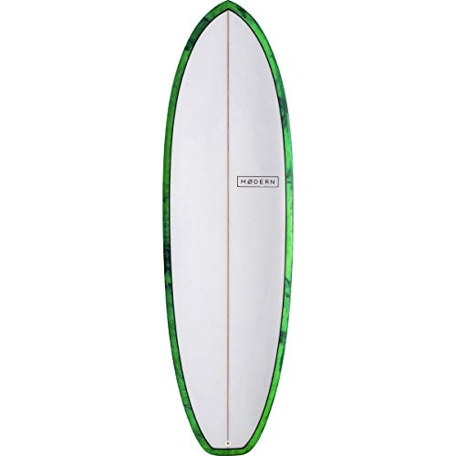 Modern Surfboards Highline PU Surfboard Sea Tint, 6ft 4in