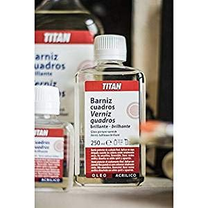 TITAN - BARNIZ CUADROS SATINADO TITAN 1 LT