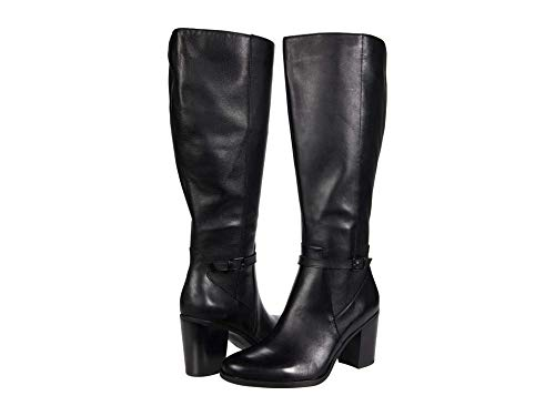Naturalizer Kalina Wide Shaft Black Leather 9 M (B)