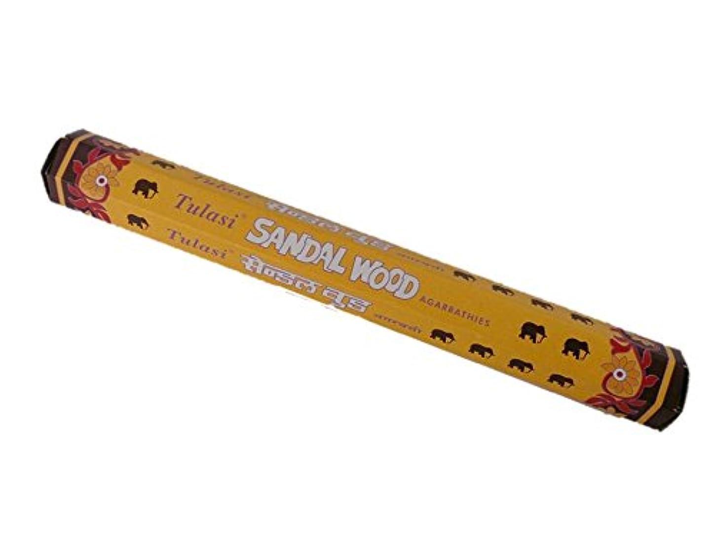 溶接コールドポーズTulasi(トゥラシ) お香:サンダルウッド スティックお香/インセンス/1箱
