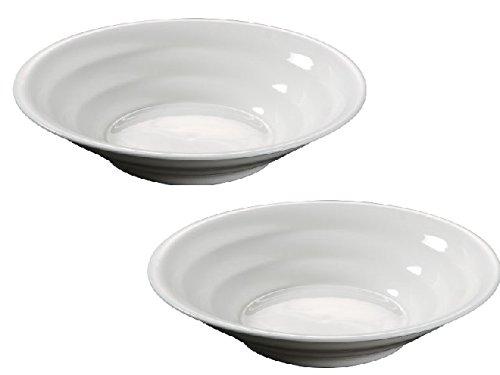 西田(Nishida) 中華皿 おうち料亭 中華丼 麺鉢 冷麺丼 ざるそば 冷やし中華 (2, 21cm)