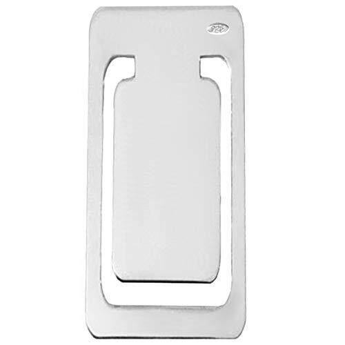 925 Silber Lesezeichen Geldklammer L 6 cm in Premium Verarbeitung