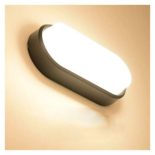 Lámpara de pared 15W 20W LED moderno Lámpara de pared a prueba de humedad Pórche de baño Lámpara de escono de techo de techo interior Superficie al aire libre montada Iluminación de la pared de la par