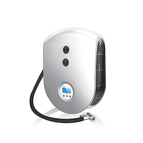 YTEVYT Akku Luftpumpe Elektrische Tragbare elektrische Auto-Reifen-Inflator Pumpe 12V Auto-Luft-Kompressorpumpe LED-Licht aufblasbare Pumpe for Outdoor-Notfall G-8