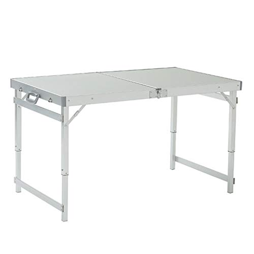 Table de Barbecue portative extérieure réglable de Barbecue de Bureau en Aluminium de Camping portatif de Table (Taille : A)