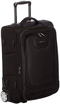 Amazon Basics Expandable Softside Carry-On Luggage Suitcase