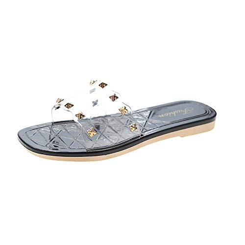 Sandalias de Dedo Cómodas para Hombres Chanclas,Deportes Sandalias al aire libre Piscina Piscina Controladores Flip Flops Zapatos Casuales Viajes Playa Playa Playa Playa Playa La palabra Drag-negro_39