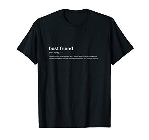 Best Friend Bester Freund I T-Shirt Lustige Definition