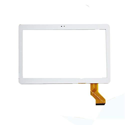 Sostituzione Touch Screen Pannello touch screen da 2,5D Pannello digitalizzatore in vetro per BMXC Y900 LZ109 S101 K101 MTK6797 4G 3G Chiamata SIM SIM Android 7.0 10.1 pollici Tablet ( Color : White )