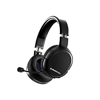 SteelSeries Arctis 1 Wireless Gaming Headset for Playstation – USB-C Wireless – Detachable ClearCast Microphone – for PS5 PS4 PC Nintendo Switch Android – Black