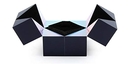 puzzle jewelry box magical ring box,creative cube rotating ring box,rotating engagement ring box,rubiks cube storage box,the best choice for Valentine
