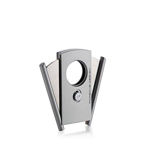 Porsche Design Zigarrencutter silver inkl. Lifestyle-Ambiente Tastingbogen