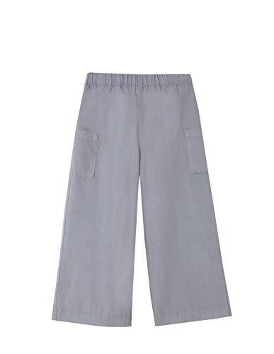Gocco Pantalon Bolsillos, Gris Claro, 11-12 años para Niñas