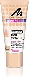 Manhattan Perfect Mat Make Up By Clearface Beige