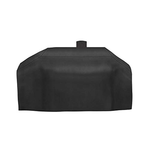 Stanbroil Outdoor Heavy Duty Waterproof Grill Cover Replacement for Smoke Hollow Gas/Charcoal Grill and More, All Weather Protection, Black