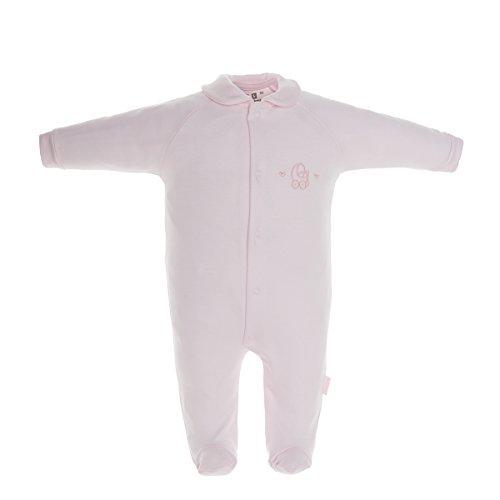 Cambrass 26098 - Pelele para recién Nacidos, Talla 68 cm (3 a 6 Meses), Color Rosa