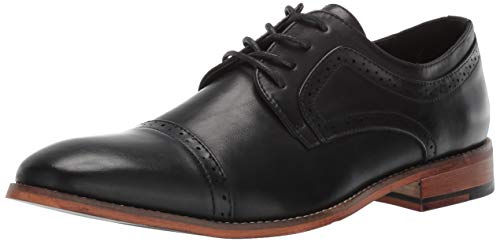 Kenneth Cole Unlisted Men's Cheer Lace Up Oxford, Black, 10.5 M US