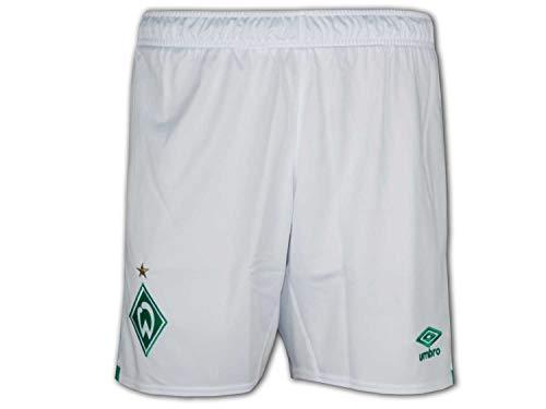 UMBRO SV Werder Bremen Short Home 2019/2020 Herren weiß/grün, XL