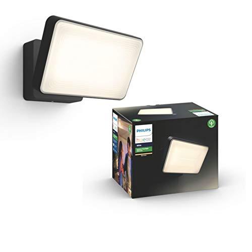 Philips Hue White Ambiance Welcome - Set di luci di inondazione, colore: Nero, 1 X Phillips Welcome Flutlicht 0.00W 230.00V