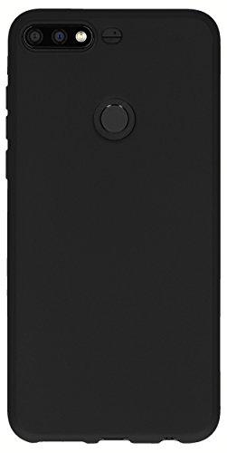 mumbi Hülle kompatibel mit Honor 7C Handy Case Handyhülle, schwarz - 3