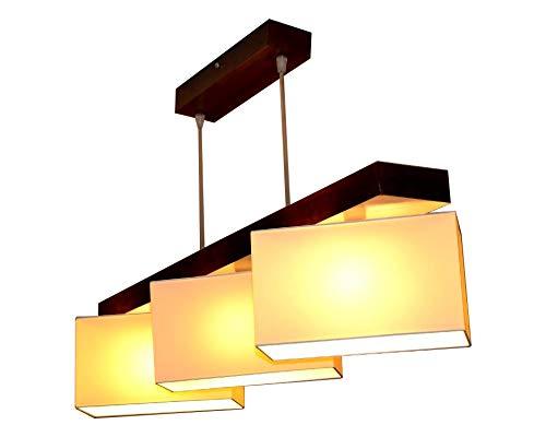 Hängelampe Hängeleuchte Milano B3 MIX Lampe Leuchte 3 flammig verschiedene Varianten (Creme)