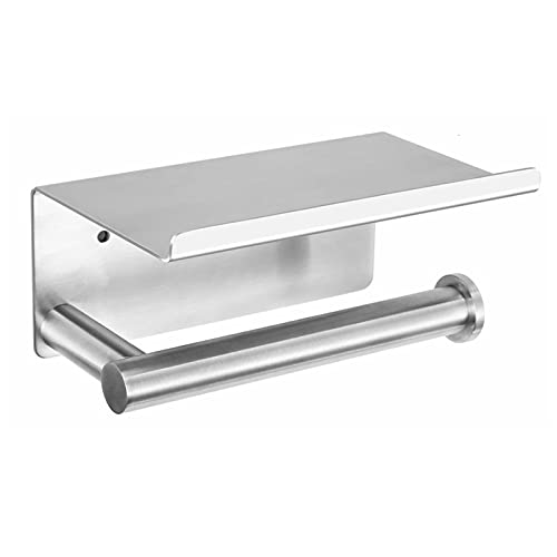 Top 10 best selling list for toilet paper holder with cell phone shelf