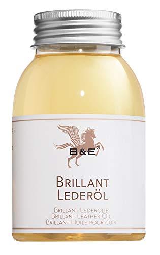 Bense & Eicke B & E Brillant Lederöl, 250 ml für Alle Glattlederarten Geeignet | Lederpflege | Lederweichmacher