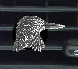 C29 Kingfisher - Ambientador de estaño inglés fino, diseño de peltre con clip para decoración de coche, furgoneta, camión, mini autobús
