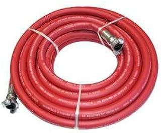 Interstate Pneumatics HJ19-100E Jack Hammer Red Rhino Rubber Hose 3/4 Inch x 100 Feet 300 PSI