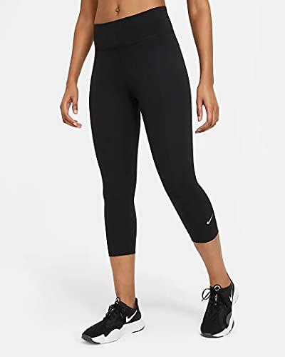 Nike One Dry Fit Mr Capri Tights Black/White M