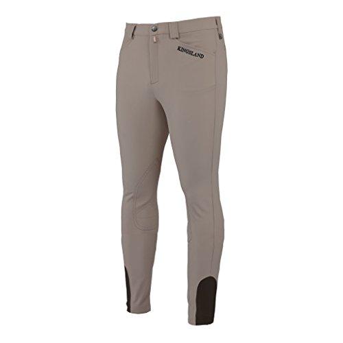 Kingsland - Reitsport-Bekleidung für Herren in grau, Größe 48
