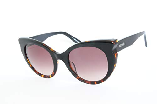 Just Cavalli JC786S 05F 53 Montature, Nero (Nero/AltroMarrone Grand), Donna