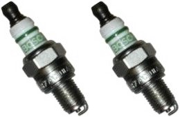 N2 (Pack of 2) Bosch USR7AC Spark Plugs Replaces 0000 400 7009