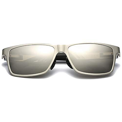 JTCT zonnebril Moda Colorful New gepolariseerd aluminium magnesium zonnebril blauw/bruin/rood/driver heren zilver skibril fietsbril