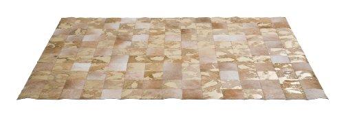 Kare Design Teppich Vegas Fur, moderne Designteppiche, Beige-Braun-gold, Vintage Teppich (B/T) 240x170cm
