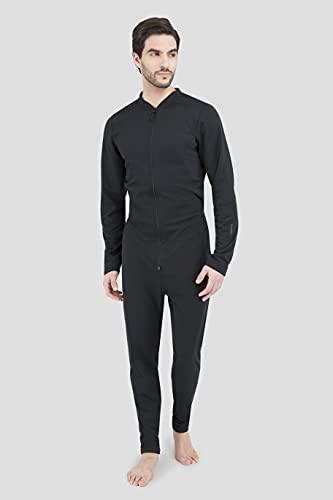 Terramar Men's Standard Military Fleece Stretch Comfort Zip Union...