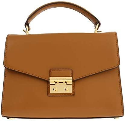 Michael Kors Quality inspection Sloan Top Satchel Handle Max 67% OFF Leather Polished