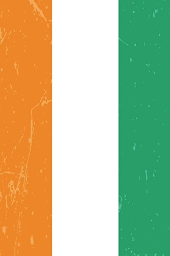 Ivory Coast Flag Journal: Ivory Coast Travel Diary, Côte d'Ivoire Souvenir, lined Journal to write in