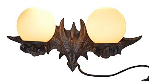 Drachenlampe Drachen Wandlampe Drache Lampe Fantasy Gothic Dragon