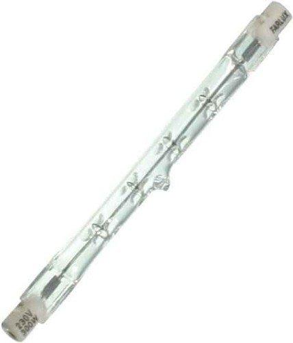 Scharnberger+Has. Halogenstab 118mm 12634 R7s 220-240V 300W Hochvolt-Halogenlampe ohne Reflektor 4034451126343