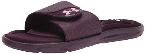 Under Armour Women's Ignite IX SL Slide Sandal, Purple, 7