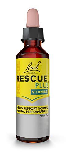 Nelsons Rescue Remedy RESCUE Plus Tropfer Zitrone und Holunderblüte, 20 ml