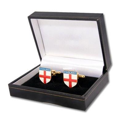 England Rugby-Coffret pour boutons de manchette